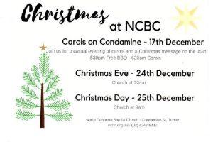 NCBC Carols on Condamine