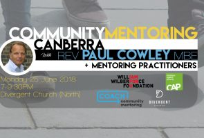 Community Mentoring with Rev Paul Cowley MBE