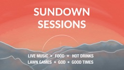 Sundown Sessions // Canberra