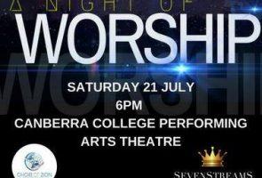 Night of Worship, Seven Streams International Church