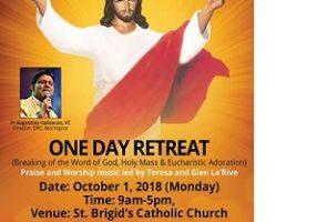 One Day Retreat by Fr Augustine Vallooran