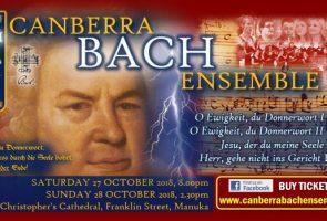 Canberra Bach Ensemble: Bach Cantatas