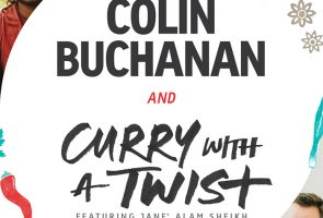 Colin Buchanan and Curry with a Twist