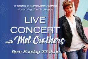 Live Concert with Mel Crothers