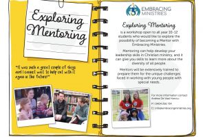 Embracing Ministries Mentoring Program