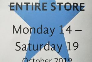 Another Chance Op Shop – 50% OFF ENTIRE STORE sale