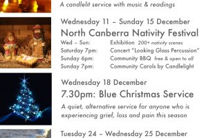 Christmas Events @ Holy Cross Hackett