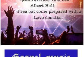 Homecoming Fundraising Concert