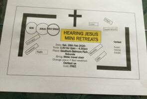 Hearing Jesus – Mini Retreat