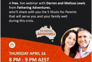 "FREE LIVE WEBINAR – ""5 Musts for Parents During a Crisis"""