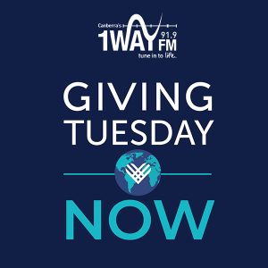 Donte to 1WAY FM for Giving Tuesday Now