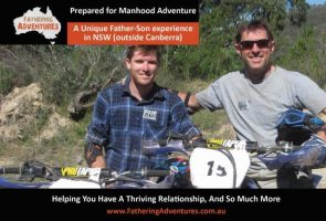 """""""Prepared for Manhood"""" 4 Night Father-Son Adventure experience"""