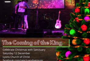The Coming of the King – Sanctuary Christmas