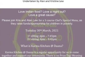 Fundraising Dinner in Support of Kris & Alan Lew  Ride For Compassion March 30th 2021