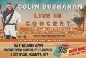 Colin Buchanan 2nd Concert at 5pm